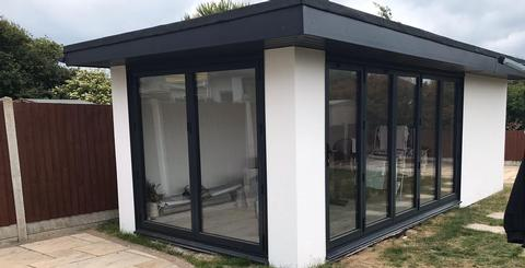 Complete construction of Garden Room in Essex