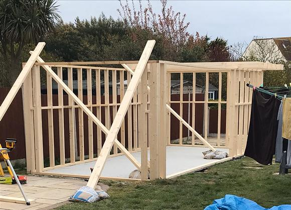 Garden Room construction and design in Essex